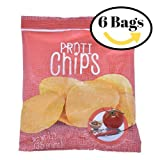 ProtiWise - High Protein Diet Chips | BBQ | Low Calories, Sugar Free, Low Carbs ( 6 Bags )