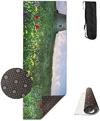 Louis Berry Esterilla de Yoga con diseño de mar de Flores y ...