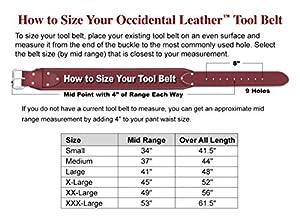 Occidental Leather 8089 XL OxyLights 7 Bag Framer Set (Tamaño: X-large)