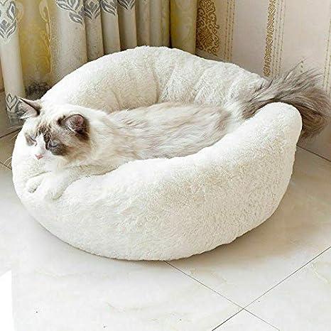Zooarts Cama para Perros y Gatos Marshmallow, Suave, cómoda y esponjosa