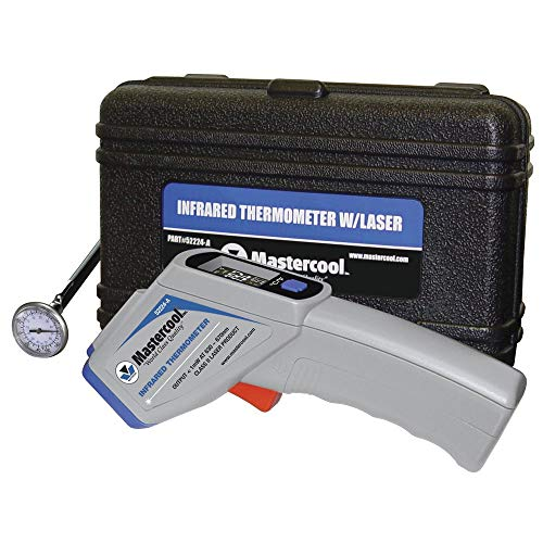MASTERCOOL 52224-A Gray Infrared Thermometer with ()