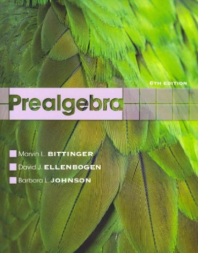 Prealgebra with MathXL (12-month access) (6th Edition)