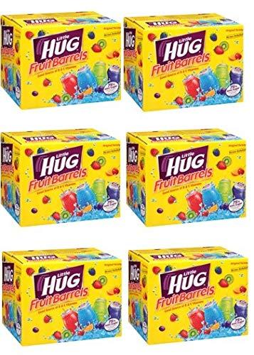 (Little Hug Fruit Drink Barrels, Original Variety Pack, 8 Fl Oz, 40 Count (Pack of 6))