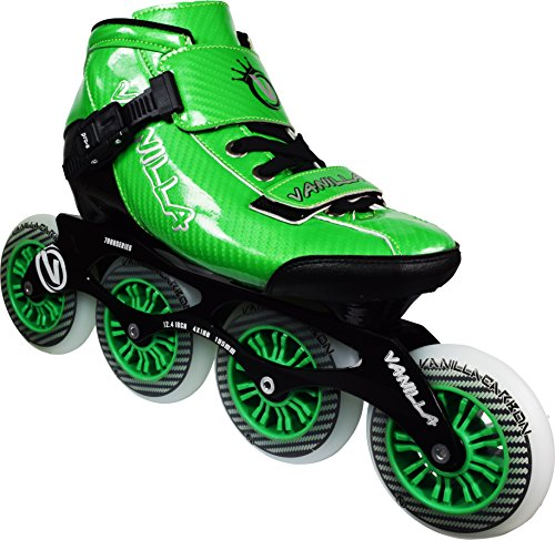 Leather In Line Skates - VNLA Carbon Speed Inline Skates