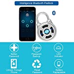 LIANHUI-Smart-Keyless-Lock-Mini-Wireless-Metal-Bluetooth-Lucchetto-Elettronico-Safety-Lock-App-Controllo-Per-Portabagagli-Supporto-Per-Sistema-AndroidiOS