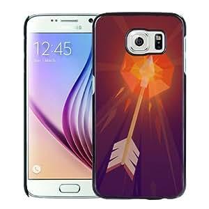 Fashion DIY Custom Designed Samsung Galaxy S6 Phone Case For Burning Arrow Illustration Phone Case Cover