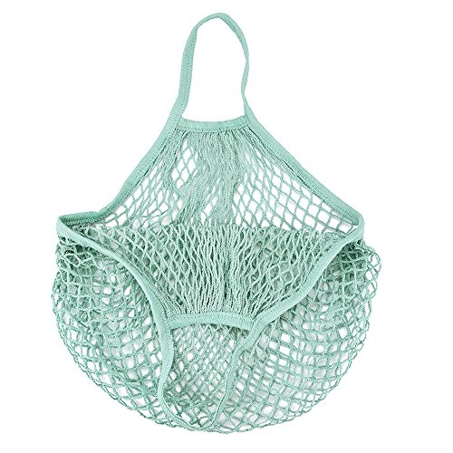 ♚Rendodon♚ Storage Tools, Home Storage, Short and Convenient Shopping net Bag, Mesh Net Turtle Bag String Shopping Bag Reusable Fruit Storage Handbag Totes New (A)