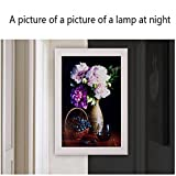 JIN Modern Minimalist Ultra-Thin Bedroom Bedside Lamp Living Room Stairs Aisle Minimalist Art Sconces American Lamps Mural Lights