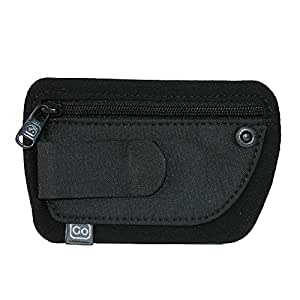 Design Go Luggage Clip Pouch, Black, One Size
