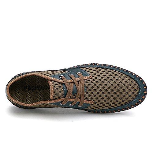 Air CUSTOME Engrener D'Eau Chaussures Chaussures Vert Décontractée de Doux Hommes Léger Plein Nager Poids Respirant Banc Appartement Combinaison Exercice wtrHt7Eq