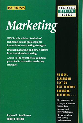 Marketing (Barron's Business Review Sereies)