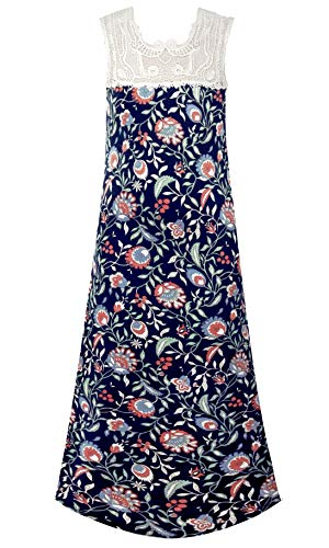 (Smukke, Big Girls Beautiful Dresses (with Options), 7-16 (Vintage Floral, 10))