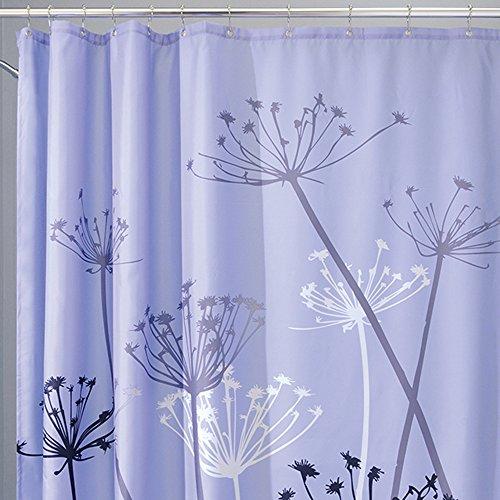 Interdesign Thistle Fabric Shower Curtain 72 X 72 Inch