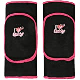 Kids Protective Knee Pads, Stretchy Cotton Thicked Breathable Antislip, Collision Avoidance Keedpads Knee Sleeve Brace Support Protector Pad Wrap Tape for Kids Sports Dancing