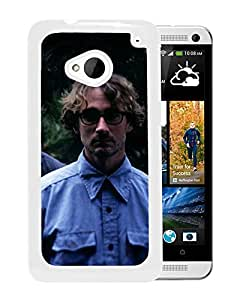 Beautiful Designed Cover Case With Califone Glasses Trees Branch Band (2) For HTC ONE M7 Phone Case