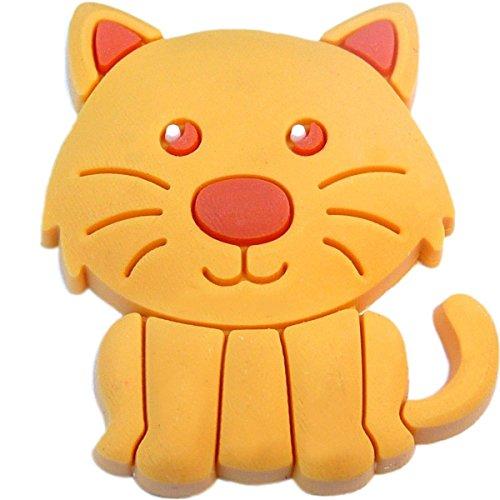 Jibbitz Cat (Kitty Cat Rubber Charm Jibbitz Croc Style)