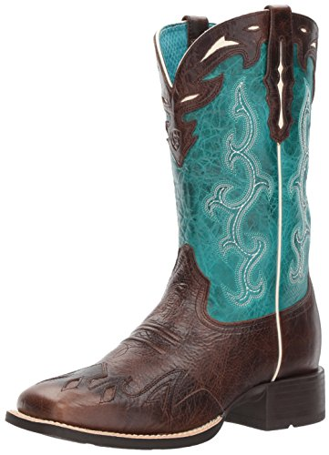 Ariat Women's Sidekick Work Boot, Chocolate Chip, 9 B (Toe Boots Chocolate)