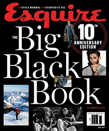 Esquire Magazine The Big Black Book (Fall/Winter 2016) 10th Anniversary Edition