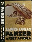 Panzer Army Africa, James Lucas, 0891410643