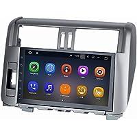 SYGAV Android 7.1.1 Car Stereo for 2010-2013 Toyota Prado 10.2 Inch Touch Screen Radio 2G Ram GPS Sat Navigation Head Unit Bluetooth FM/AM/RDS/WiFi/USB/SD/Mirrorlink