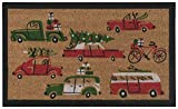 Now Designs Doormat, Holiday Cars