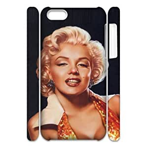 C-EUR Diy 3D Case Marilyn Monroe for iphone 5c iphone 5c