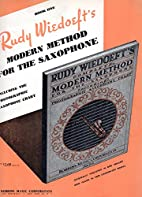 Rudy Wiedoeft's Modern Method for the…