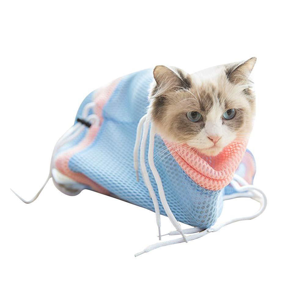 Amazon.com: Pet Cat Washing Grooming Bag,Adjustable Groomers ...