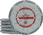 Dynamic Discs Prime Warden Putter 5 Pack | Disc Golf Putter Pack | Throwing Frisbee Golf Disc | Colors Will Va