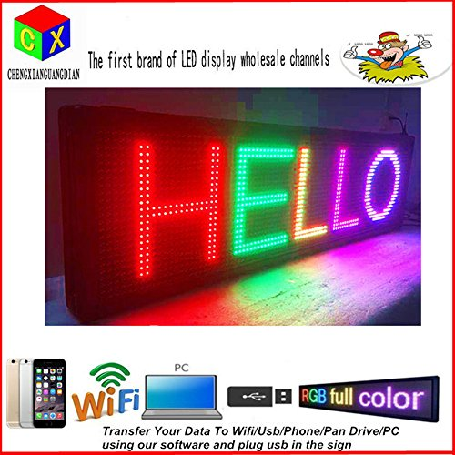 LED Programmable Electronic P13 FULL COLOR OUTDOOR Sign L...