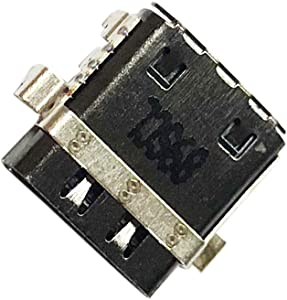 Zahara USB Type-C DC Jack Charging Port Replacement for Dell XPS 12 9250 Latitude 7275 XPS 15 9575 P73F001 2-in-1 7390 Chromebook C7486-3250GRY