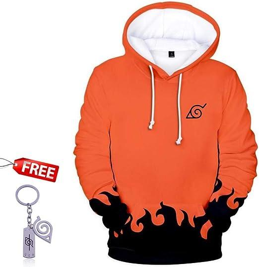 bettydom Boys Fashion Hoodies Long Sleeve Autumn Outerwear Sweatshirt with  The Japanese Anime Naruto Fashion Hoodies & Sweatshirts