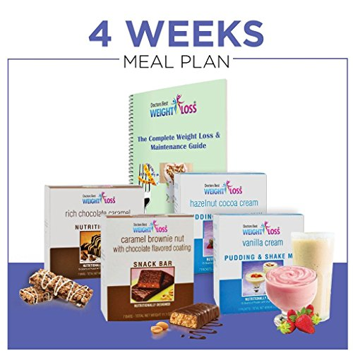 Doctors Best Weight Loss - 4 Week Men Meal Plan / Healthy Meal Replacement Weight Loss & Healthy LifeStyle by Doctors Best Weight Loss