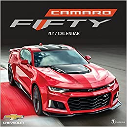 2017 camaro 50th anniversary wall calendar general motors 9781624386350 books. Black Bedroom Furniture Sets. Home Design Ideas