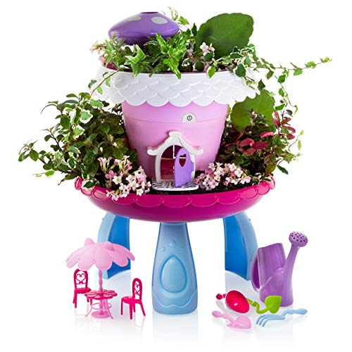Advanced Play My Fairy Garden Kit Kids Gardening Set Indoor Outdoor Play Activity Gardening Tool Set Toys Kids Toddlers Girls Boys Ages 3