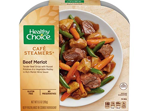 Healthy Choice Cafe Steamers Beef Merlot, 9.5 Ounce - 8 per case. ()