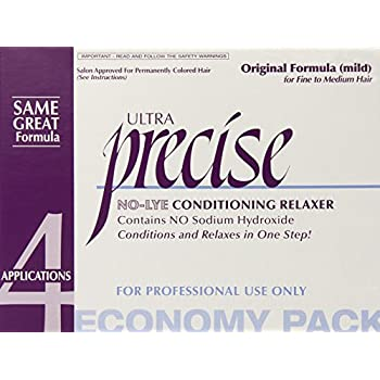 Softsheen Carson Precise No-lye Original Relaxer Economy Pack