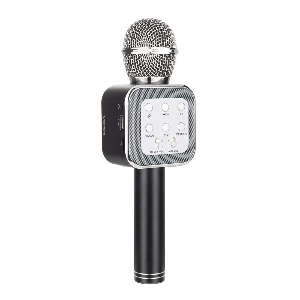 New Model Speaker Machine Kid Adult Source Vocal Removal Technology Cobble Pro Wireless Karaoke Microphone Choose Unlimited Music Source from YouTube, Compatible with iPhone iPad Smartphone Tablet