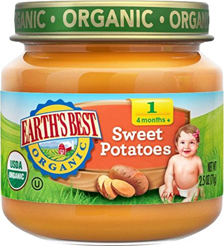 organic baby food sweet potato - 1