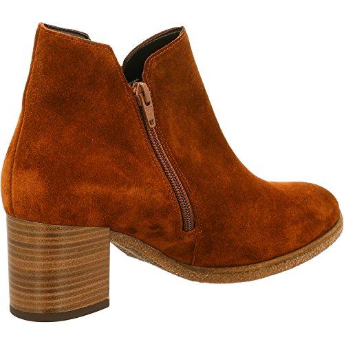 Gabor 72-830 Comfort Shoes - Botines de cuero mujer marrón
