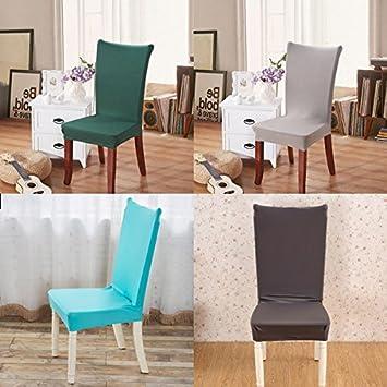 Bazaar Honana Elegante Stoff Solide Farbe Stretch Sessel Sitz Decke  Computer Esszimmer Hotel Dekoration Hochzeit