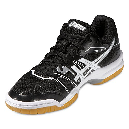 Gel Chaussures Black Femme silver Volleyball white De 7 Asics rocket axwp1PP