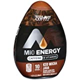 MiO Energy Iced Mocha Java Iced Coffee Concentrate 1.62 fl. oz. (Pack of 6)