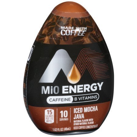 MiO Energy Iced Mocha Java Iced Coffee Concentrate 1.62 fl. oz. (Pack of 12)