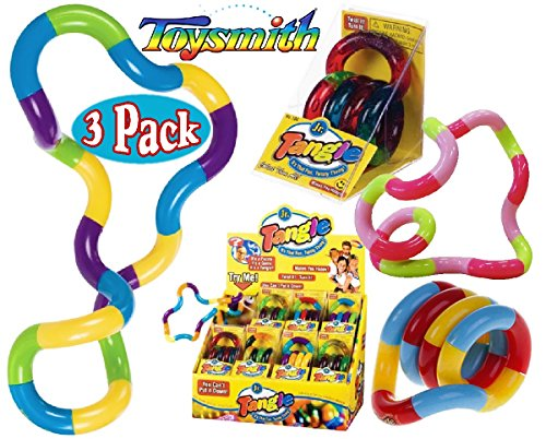 Tangle Jr. Original Classics Gift Set Bundle Assortment - 3 Pack by Toysmith