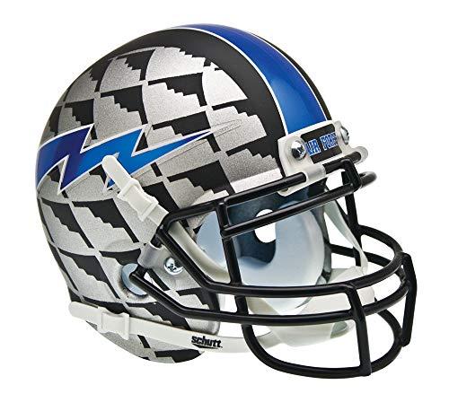 NCAA Air Force Falcons Collectible Alt 4 Mini Helmet, AquaTech