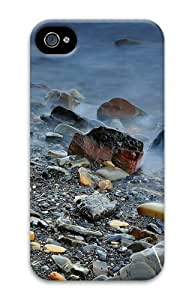iPhone 4S Case, iPhone 4S Cases - Rocks And Fog Polycarbonate Hard Case Cover for iPhone 4/4S