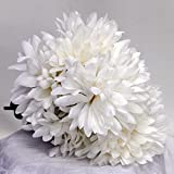 "3 Bunches Mum 17"" 21 Flowers (Cream)"
