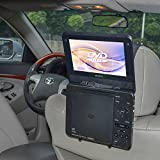 TFY Car Headrest Mount Holder for Standard (Laptop Style) Portable DVD Player