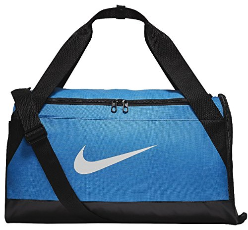Nike Brasilia 7 Small Duffel Bag Light Photo Blue
